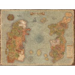 Old map world | Винтажная карта мира