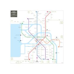 Metropolitan | Схема Метро Санкт-Петербург