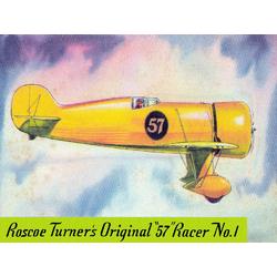 Plane | Roscoe Turner's Original 57 Racer No.1