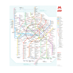 Metropolitan | Схема Метро Москва