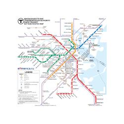Metropolitan | Схема Метро Бостон