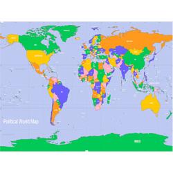 Political map | Политическая карта