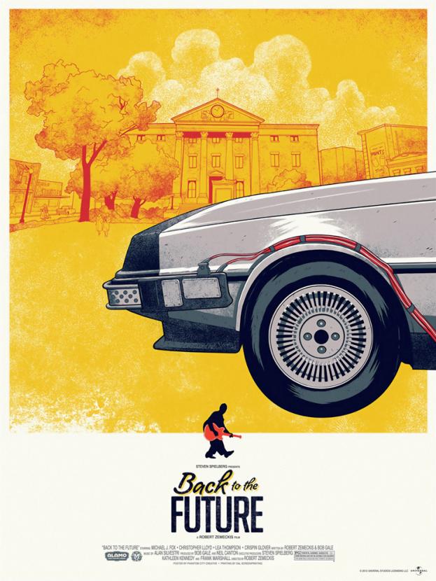 Back to the Future Collection (Коллекция постеров) | Назад в будущее