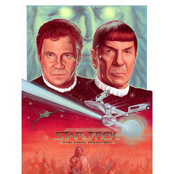 Star Trek - The final frontier (Коллекция постеров №4)   Звездный путь