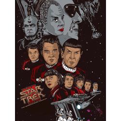 Star Trek (Коллекция постеров №2)   Звездный путь