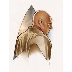 Star Trek - Jean-Luc Picard (Коллекция постеров №1)   Звездный путь