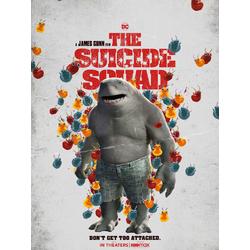 Suicide Squad 2 - King Shark (Коллекции постеров)   Отряд самоубийц 2 - Король Акул