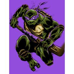 Teenage Mutant Ninja Turtles (Коллекция постеров №4) | Черепашки ниндзя: Донателло