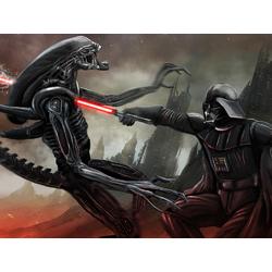 Darth Vader & Alien | Дарт Вейдер и Чужой