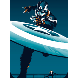 Captain America: Collection | Капитан Америка: Коллекция постеров