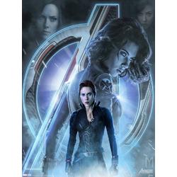 Avengers: Endgame Collection (Коллекция постеров) 3 | Мстители: Финал | Черная вдова