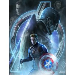 Avengers: Endgame Collection (Коллекция постеров) 3 | Мстители: Финал | Капитан Америка
