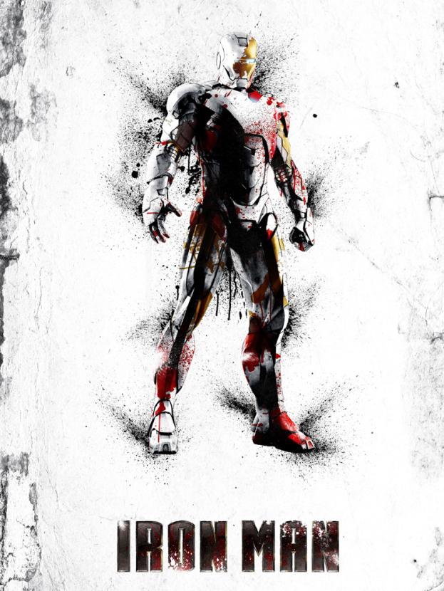 Avengers & DC Collection (Коллекция постеров): Iron Man | Железный человек