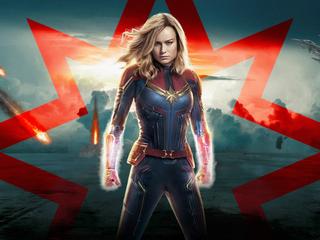 Категория постеров и плакатов Captain Marvel