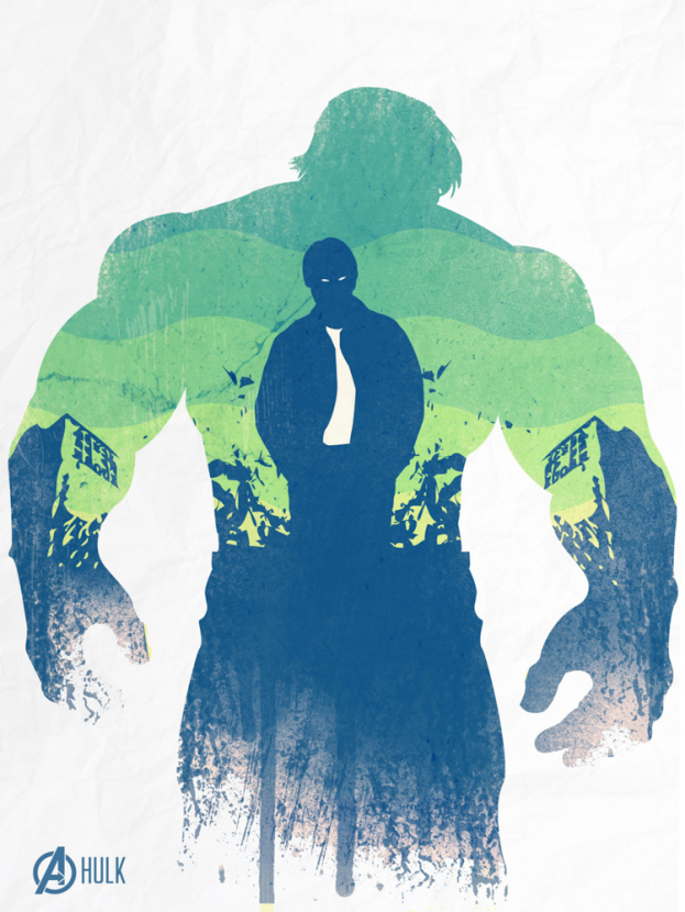 Avengers Collection (Коллекция постеров) 2: Hulk | Халк