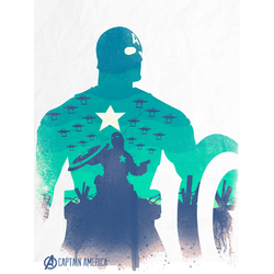Avengers Collection (Коллекция постеров) 2: Captain America | Капитан Америка