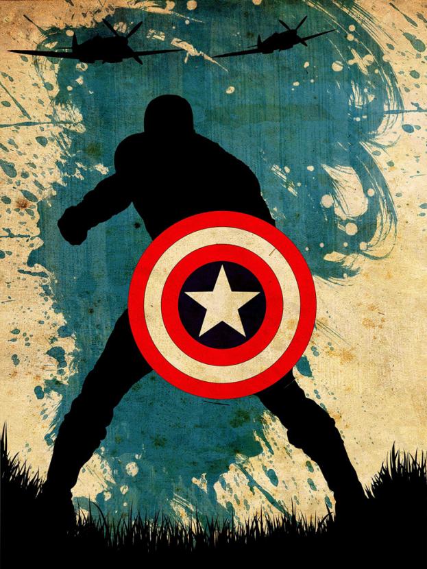 Avengers Collection (Коллекция постеров) 3: Captain America   Капитан Америка
