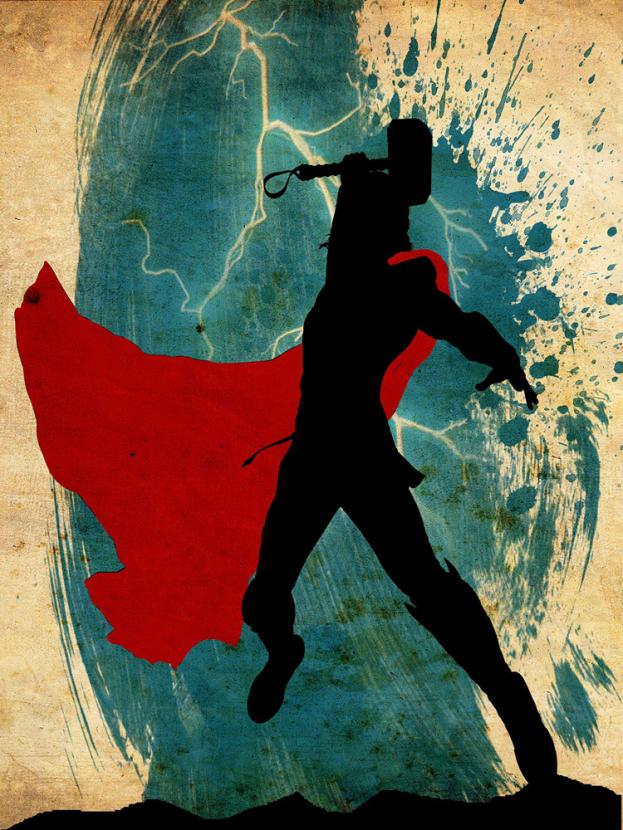 Avengers Collection (Коллекция постеров) 3: Thor | Тор