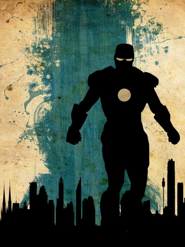 Avengers Collection (Коллекция постеров) 3: Iron man   Железный человек