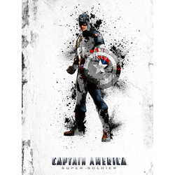 Avengers & DC Collection (Коллекция постеров): Captain America | Капитан Америка