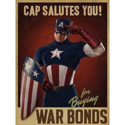 Captain America Salutes You | Капитан Америка