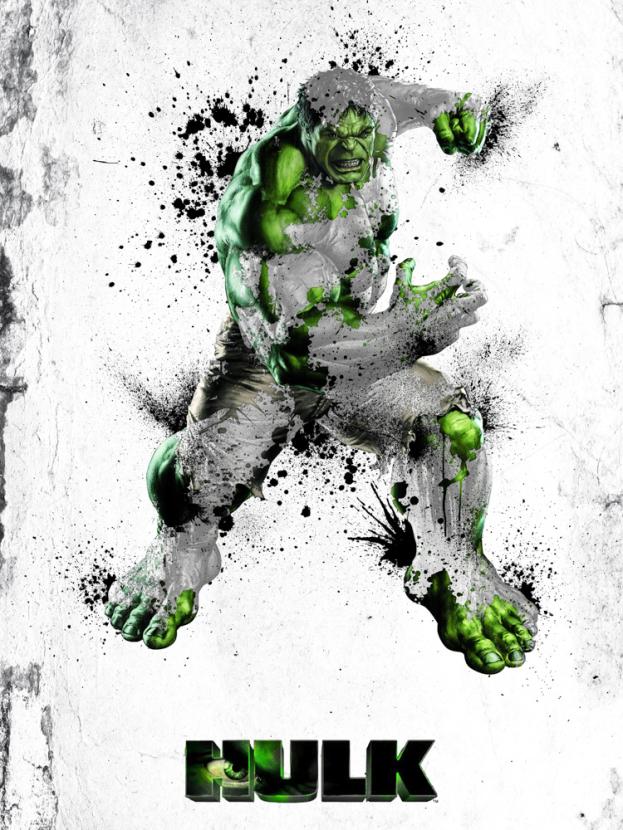Avengers & DC Collection (Коллекция постеров): Hulk   Халк