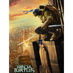 Teenage Mutant Ninja Turtles (Коллекция постеров №3) | Черепашки ниндзя: Леонардо