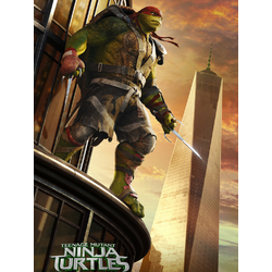 Teenage Mutant Ninja Turtles (Коллекция постеров №3) | Черепашки Ниндзя: Рафаэль