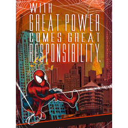 Spider Man | With Great Power Comes Great Responsibility