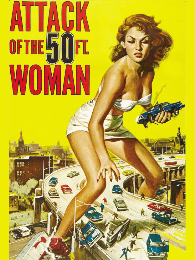 Attack Of The 50-ft. Woman | Атака 50-футовой женщины