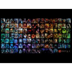 Dota 2: Heroes Table | Дота 2: Таблица Героев