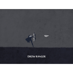 Dota 2: Drow Rander | Дота 2: Дроу Рейнджер