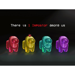 Among Us - There is 1 Imposter among us