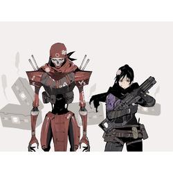 Apex Legends - Wraith & Revenant