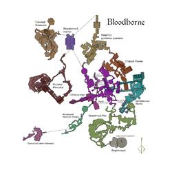 Bloodborne - Игровая карта