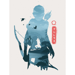 God of War - Atreus (Коллекция постеров №1)