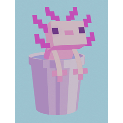 Minecraft - Axolotl | Майнкрафт - Аксолотль