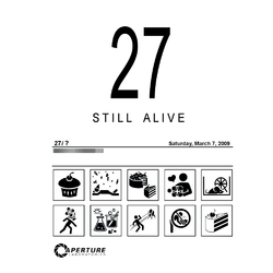 Portal 2 - Still Alive (Коллекция постеров №3)