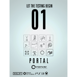 Portal 2 - Let The Testing Begin (Коллекция постеров №3)