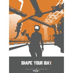 Satisfactory - Shape Your Way (Коллекция постеров №1)