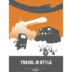 Satisfactory - Travel In Style (Коллекция постеров №1)