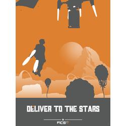 Satisfactory - Deliver To The Stars (Коллекция постеров №1)