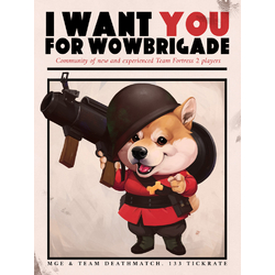 Team Fortress 2 - I Want You For Wowbrigade