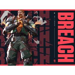 Valorant - Breach (Коллекция постеров №1)
