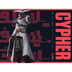 Valorant - Cypher (Коллекция постеров №1)
