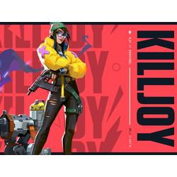 Valorant - Killjoy (Коллекция постеров №1)