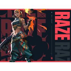 Valorant - Raze (Коллекция постеров №1)