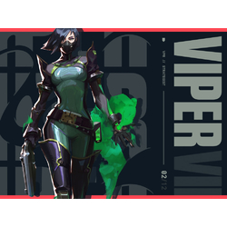 Valorant - Viper (Коллекция постеров №1)