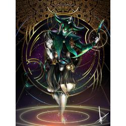 Warframe - Loki (Коллекция постеров №2)   Варфрейм - Локи