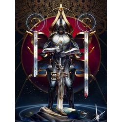 Warframe - Excalibur (Коллекция постеров №2)   Варфрейм - Экскалибур